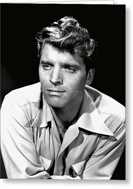 Burt Lancaster Greeting Card