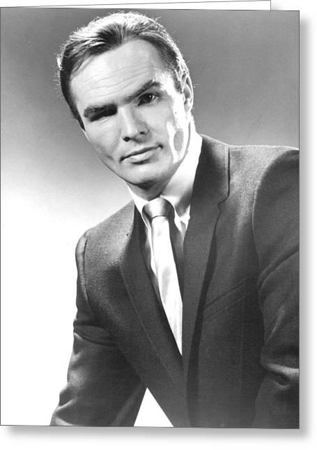 Burt Reynolds In Dan August  Greeting Card
