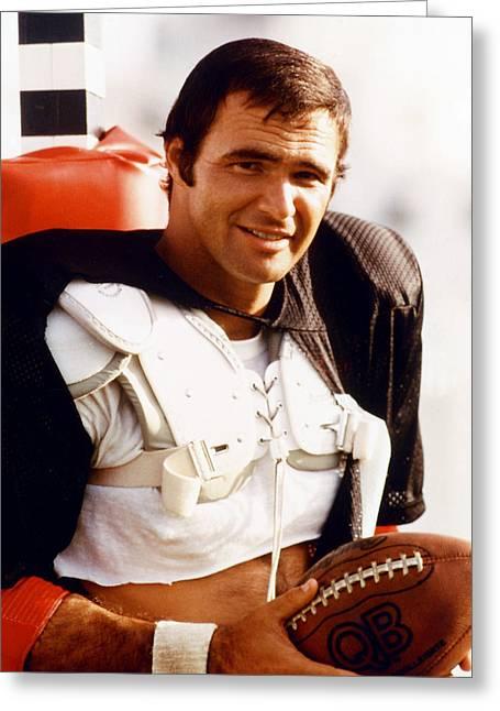 Burt Reynolds In The Longest Yard Greeting Card
