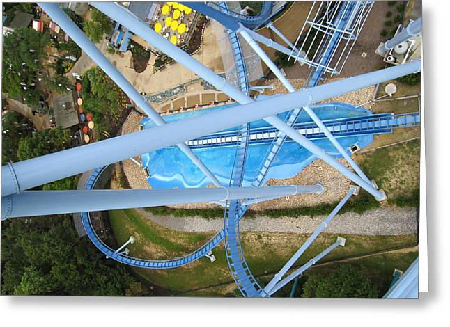 Busch Gardens - 121215 Greeting Card by DC Photographer