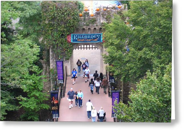 Busch Gardens - 12124 Greeting Card by DC Photographer