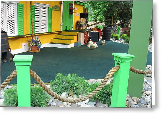 Busch Gardens - Animal Show - 121241 Greeting Card by DC Photographer