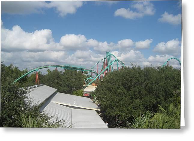 Busch Gardens Tampa - 01133 Greeting Card