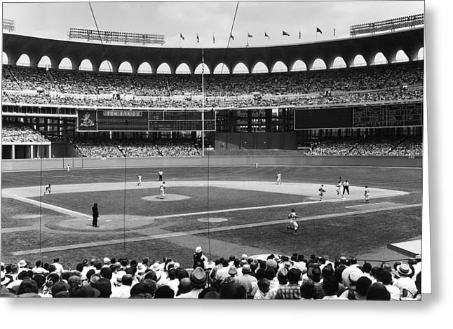 Busch Stadium - St Louis 1966 Greeting Card