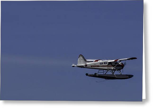 Bush Plane 001 Greeting Card by Timothy Latta