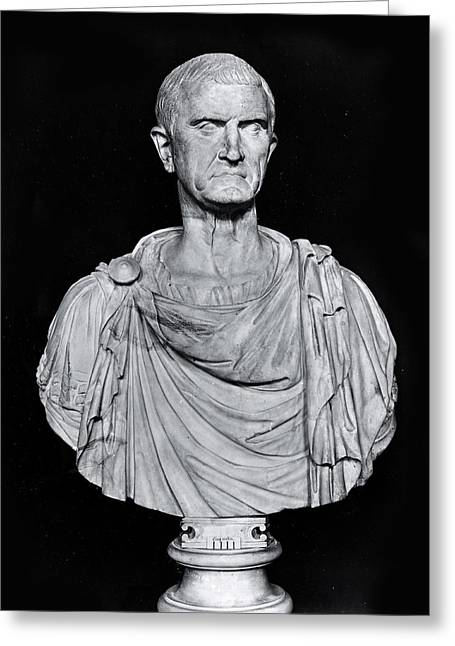 Bust Of Marcus Licinius Crassus Greeting Card by Roman
