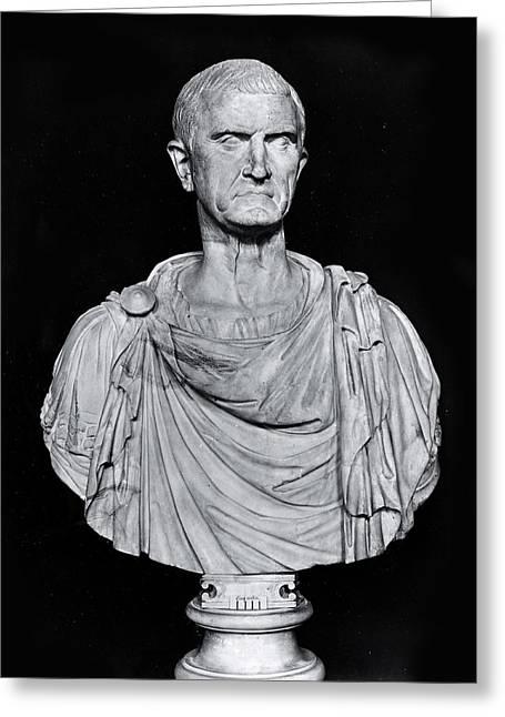 Bust Of Marcus Licinius Crassus Greeting Card