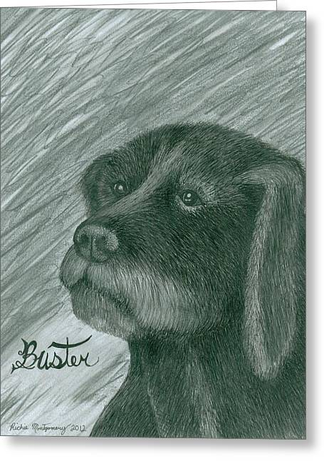 Buster Greeting Card