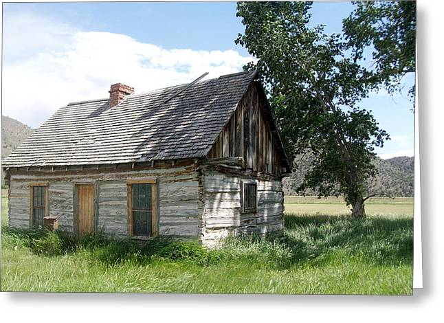 Butch Cassidy Childhood Home Greeting Card