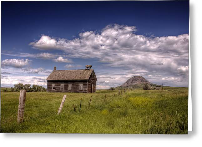 Butte View Greeting Card