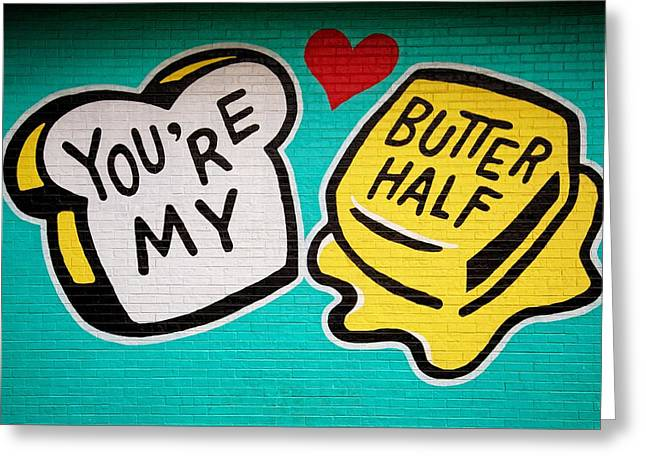 Butter Half Greeting Card