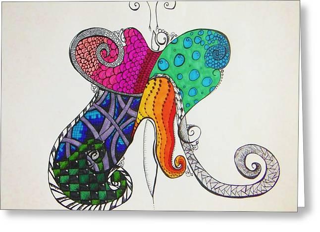 Butterflies Greeting Card by Lori Thompson