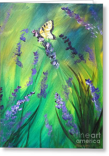 Butterfly 3 Greeting Card by Laurianna Taylor