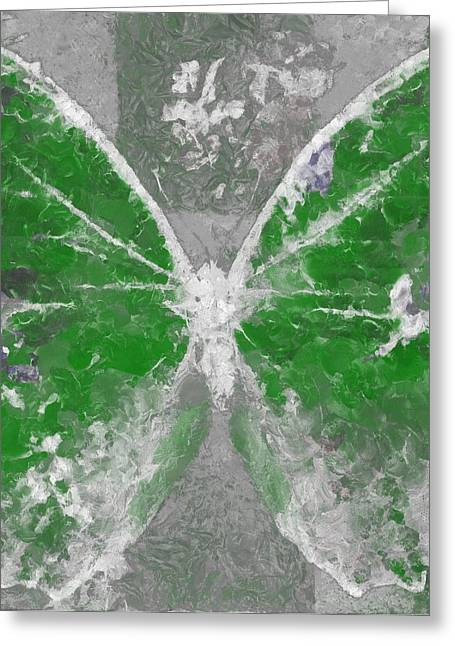 Butterfly Art - D04vb Greeting Card by Variance Collections