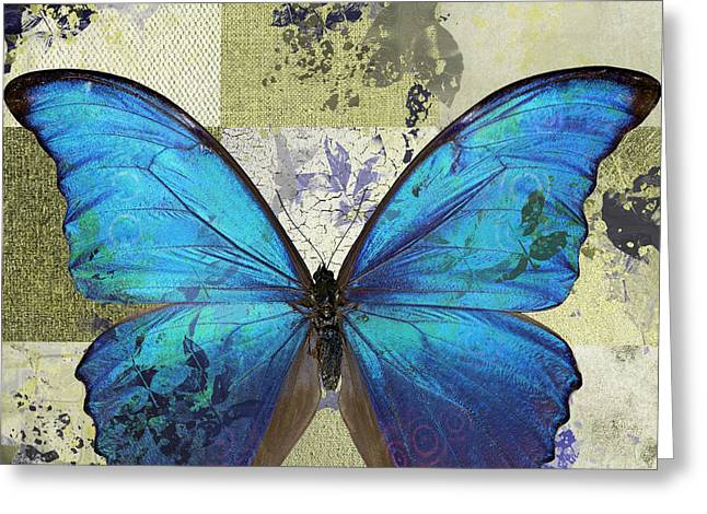 Butterfly Art - S02b Greeting Card by Variance Collections