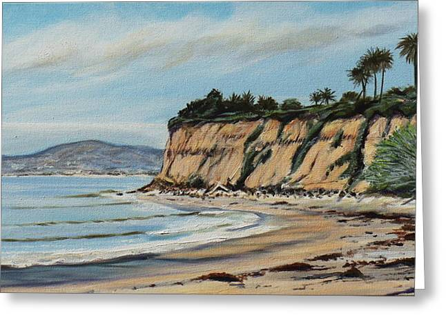 Butterfly Beach Santa Barbara Greeting Card by Jeffrey Campbell