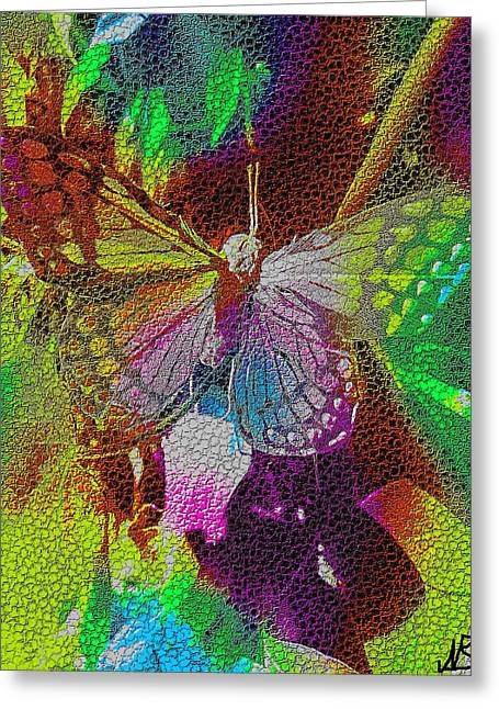 Butterfly By Nico Bielow Greeting Card by Nico Bielow
