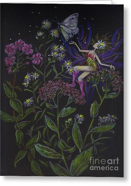 Butterfly Greeting Card by Dawn Fairies