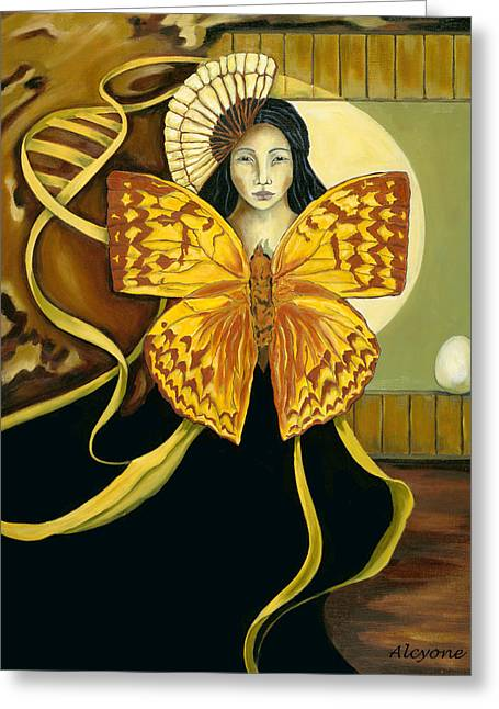 Butterfly Dreaming Greeting Card