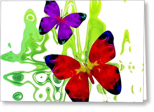 Butterfly Duet - Harmony Greeting Card