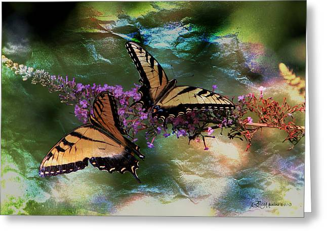 Butterfly Friends Greeting Card by EricaMaxine  Price