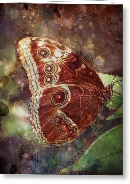 Butterfly In My Garden Greeting Card