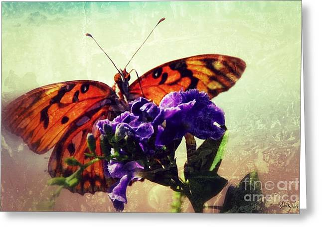 Butterfly Kissed Greeting Card