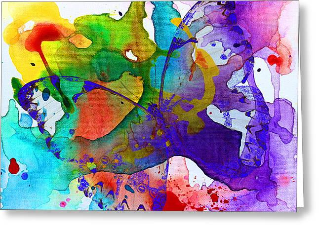 Butterfly Magic Greeting Card by Kume Bryant