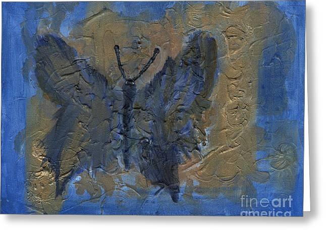 Butterfly Of The Ancients Greeting Card