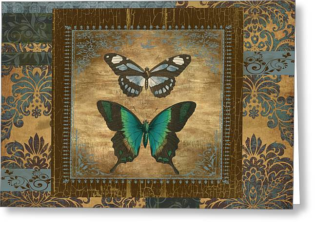 Butterfly Patchwork Greeting Card