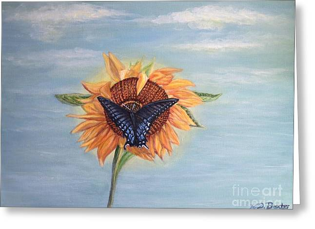 Butterfly Sunday Full Length Version Greeting Card