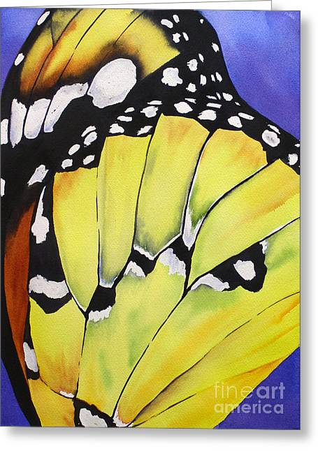 Butterfly Wing Greeting Card