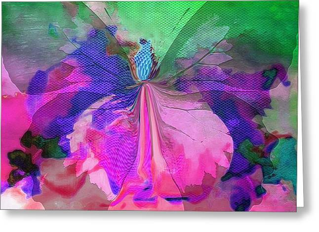 Butterfly Wings Greeting Card by Sherri  Of Palm Springs
