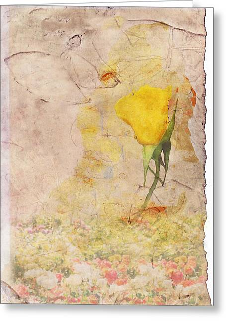 Butterfly Woman Greeting Card by Juli Cromer