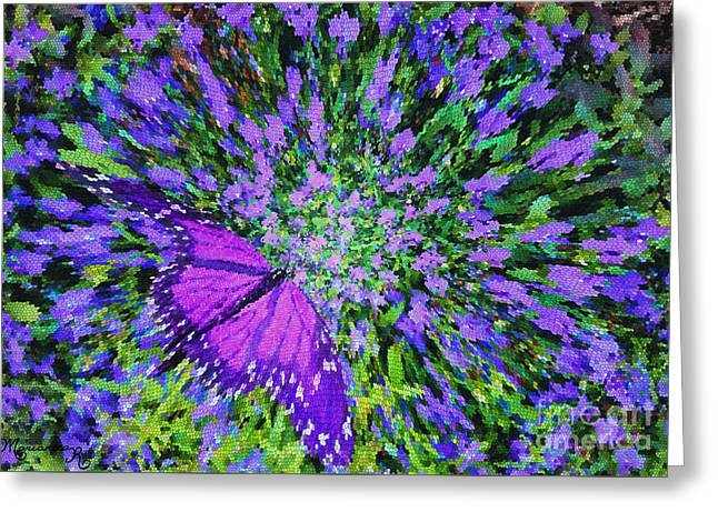 Butterfly.1 Greeting Card by Mariarosa Rockefeller