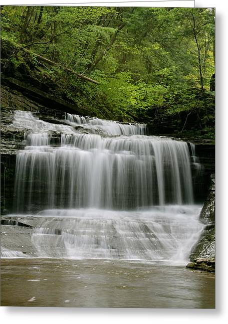 Buttermilk Falls Greeting Card by Judd Connor