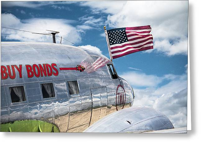 Greeting Card featuring the photograph Buy Bonds by Steven Bateson