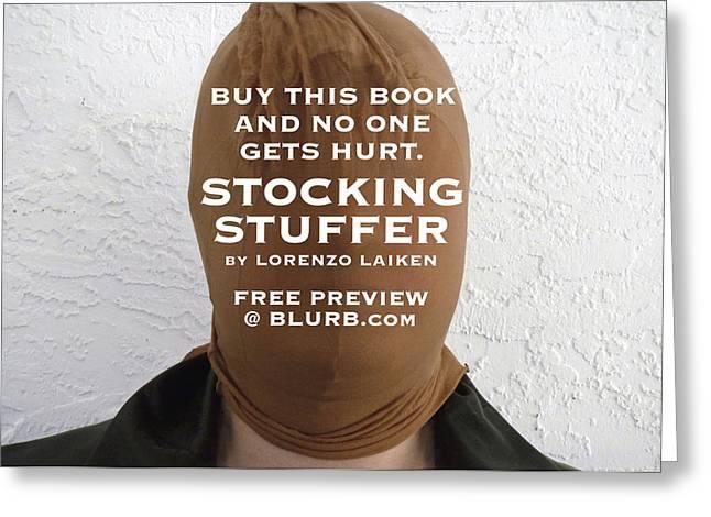 Buy This Book Greeting Card by Lorenzo Laiken