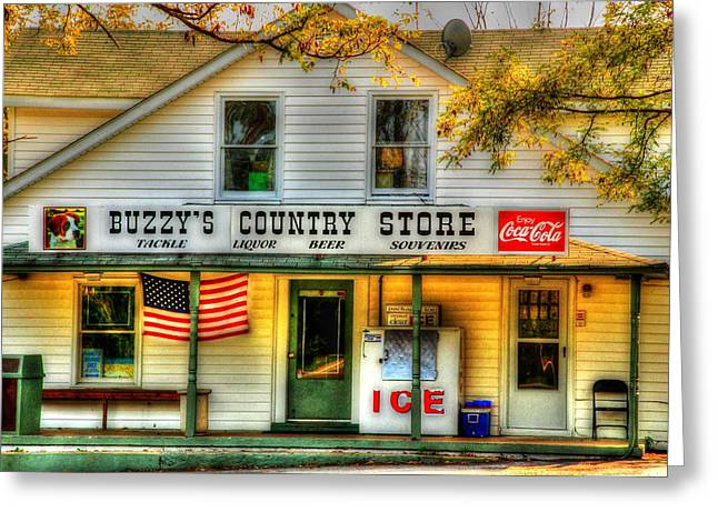 Buzzy's Country Store Greeting Card