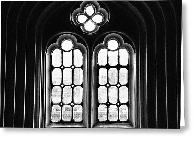 Church Window Greeting Card by JRP Photography