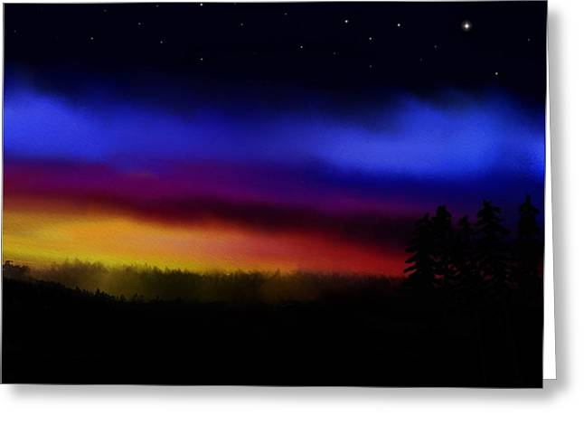 By Dawns Early Light Greeting Card by Steve Hermann