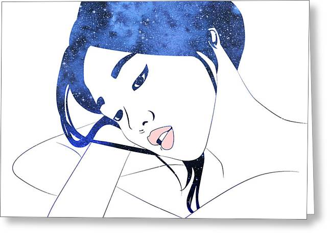 By Starlight Greeting Card