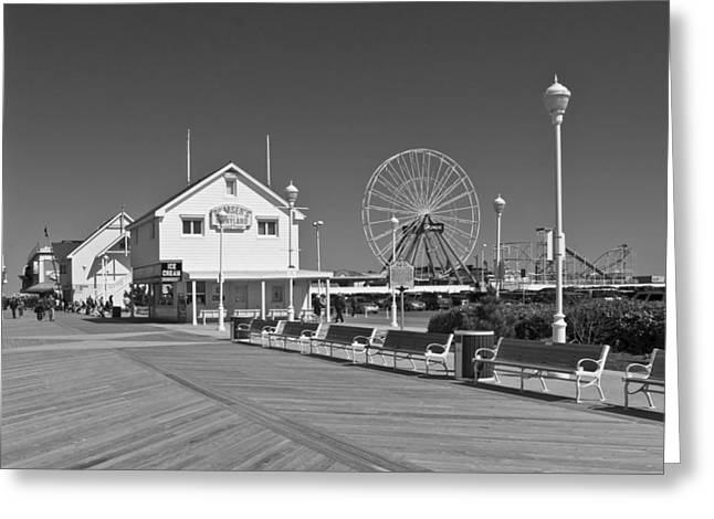 By The Boardwalk Greeting Card