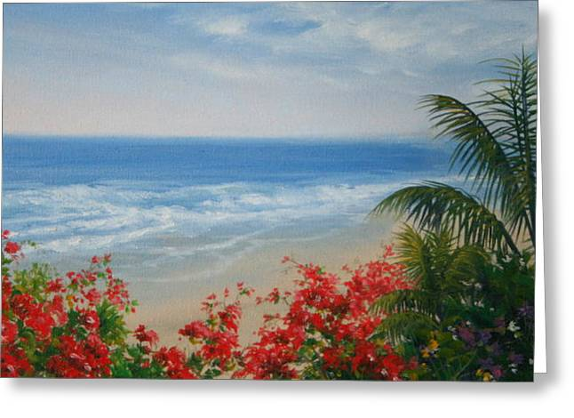 By The Sea I Greeting Card by Mary Taglieri