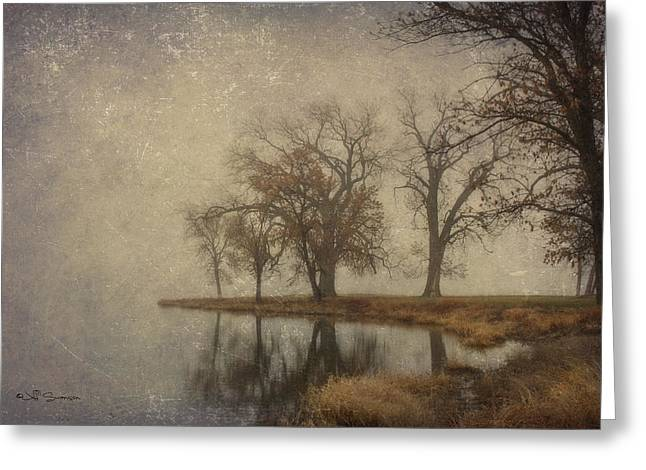 By The Waters Edge Greeting Card by Jeff Swanson