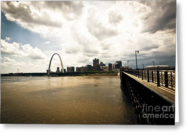 Bye Bye Saint Louis Greeting Card by Will Cardoso