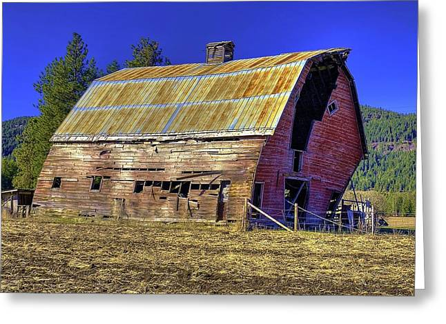 Bygone Barn Greeting Card