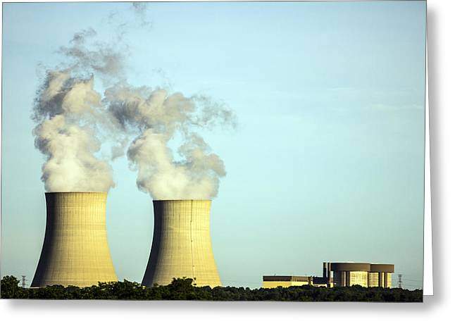 Byron Nuclear Plant Greeting Card