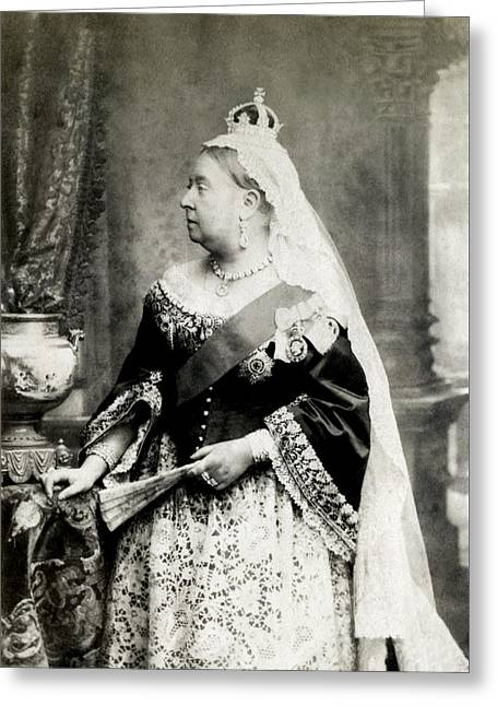 C. 1880 Her Majesty Queen Victoria Greeting Card