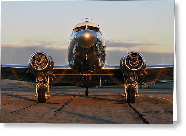 C-47 Skytrain Greeting Card by Dan Myers